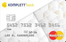 Kredittkort fra Komplett Bank.