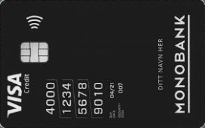 Fysisk og virtuelt kredittkort i ett.
