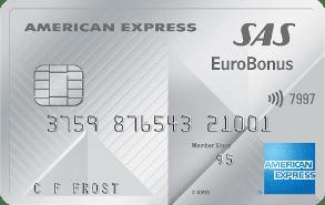 Solid kort med Eurobonus inkludert.
