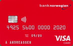 Reisekort fra Norwegian.