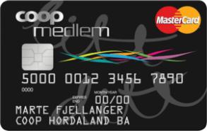 Kredittkort fra Coop.