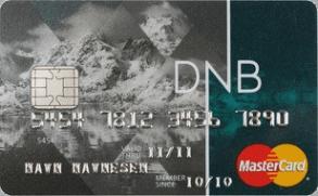 Gunstig kredittkort fra DNB.