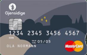 Kredittkort med shoppingrabatter fra Gjensidige.