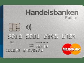 Eksklusivt kredittkort fra Handelsbanken.