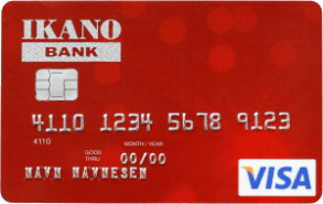 Fordelaktig kort fra Ikano Bank.