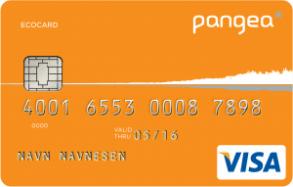 Miljøvennlig kredittkort fra Pangea.