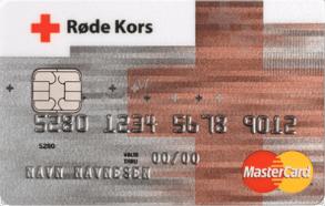 Støtt Røde Kors ved bruk av kredittkort.