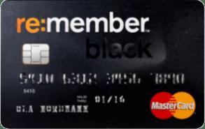 MasterCard med høy kredittsum.