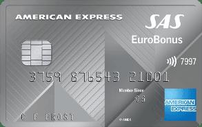 American Express med Eurobonus-poeng.
