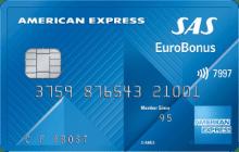 American Express med flybonus fra SAS.