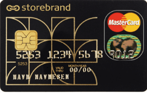 Kredittkort med reiseforsiking fra Storebrand.