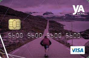 Kredittkort med Cashback og reiseforsikring.